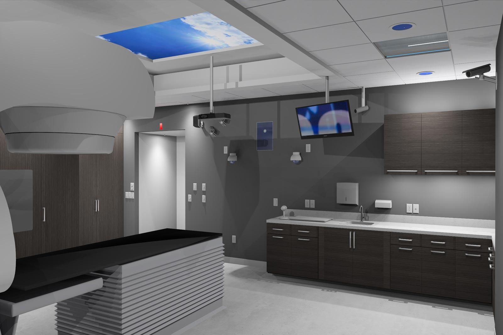 Santa Clara Medical Center - Rad Occ Treatment room upgrade